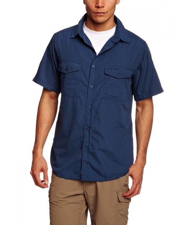 Craghoppers Short Sleeve Indigo X Large