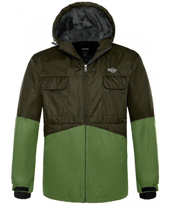 Wantdo Hooded Mountain Outdoor Windproof