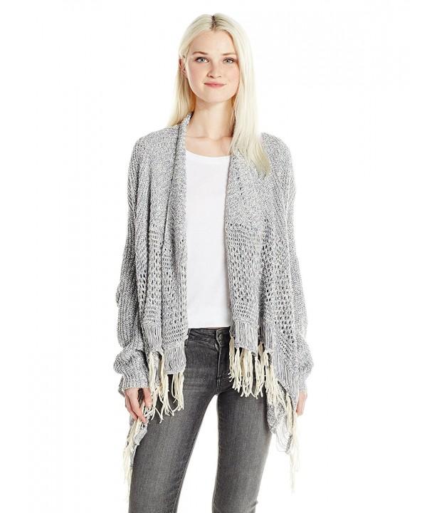 Silver Jeans Womens Longsleeve Fringe