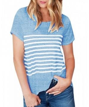 Remikstyt Womens Striped Fitting T Shirts