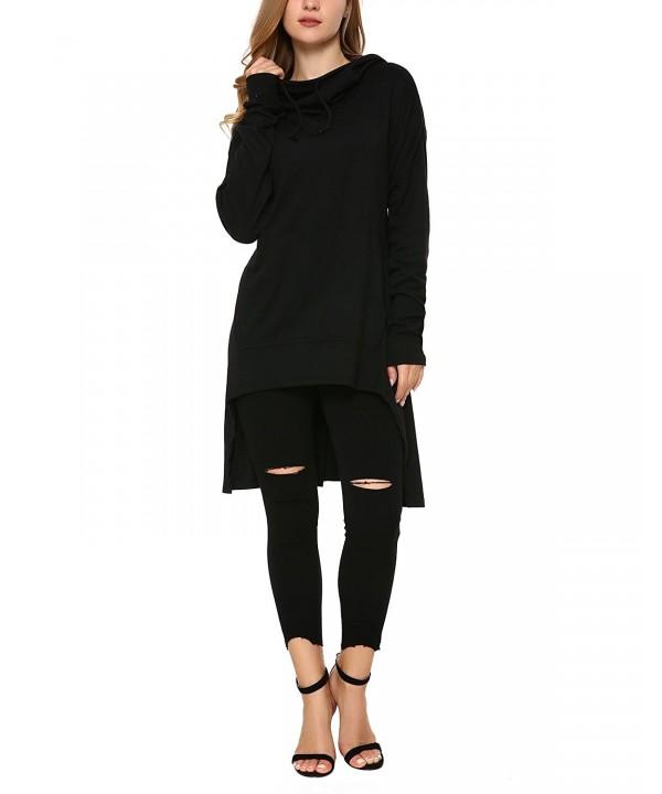 Mixfeer Asymmetric Pullover Sweatshirt Pockets