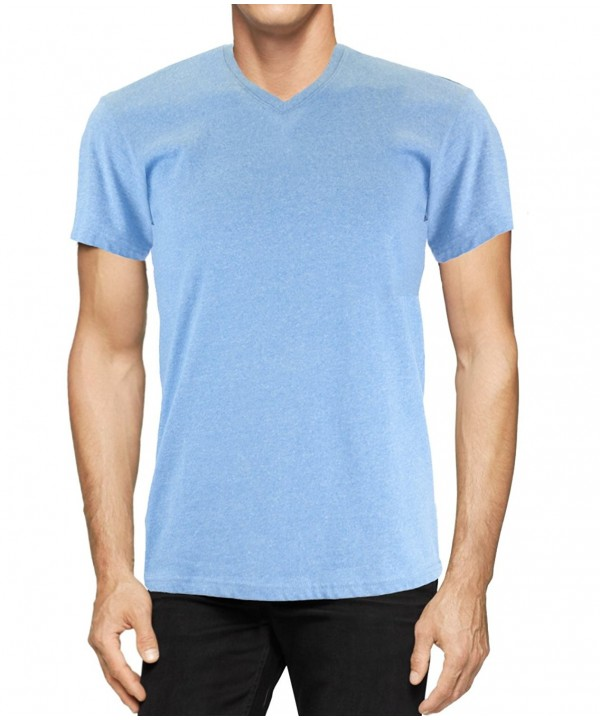 StraightFaded Fashion Marled V neck Small