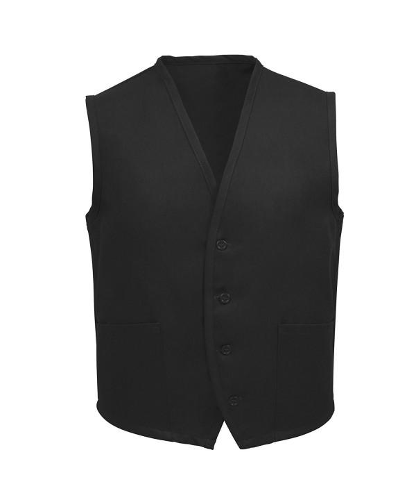 Fame Adults 2 Pocket Vest Black 3XL