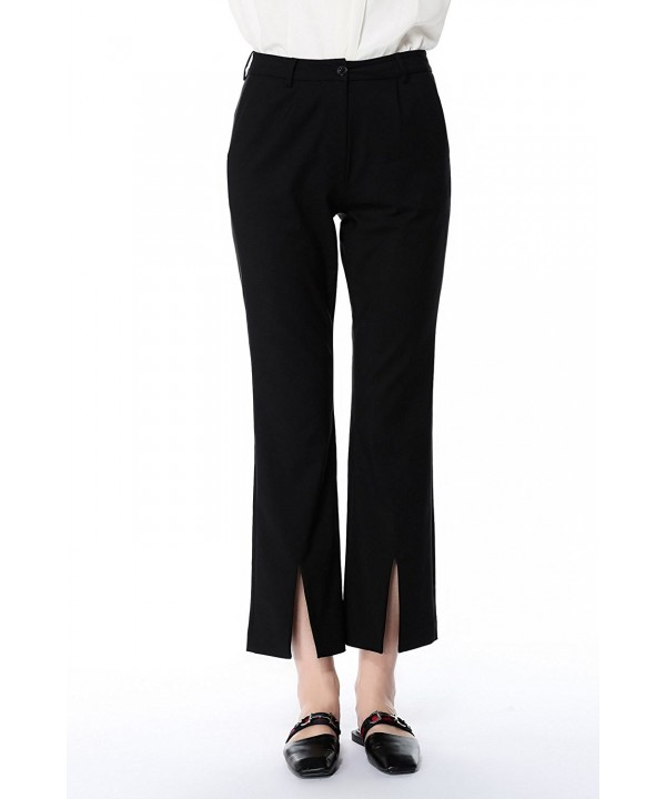 Summer Flared Bottoms Elastic Trousers
