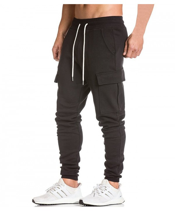 Jogger Workout Sweatpants Casual Trousers