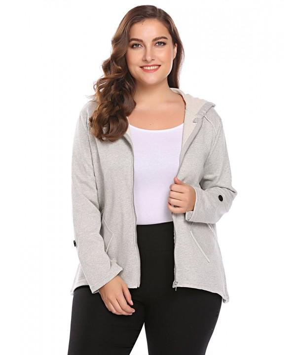 Involand Womens Sleeve Casual Fleece