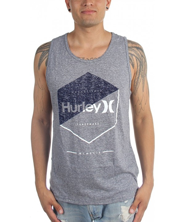 Hurley Graced Tri Blend Medium Charcoal