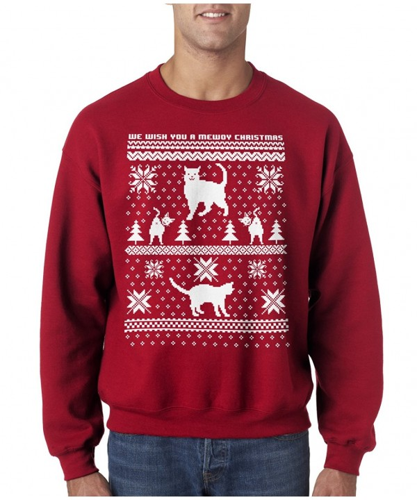 Crazy Dog T Shirts Christmas Sweatshirt