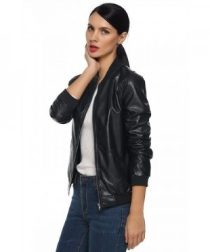 Women's Leather Jackets Outlet
