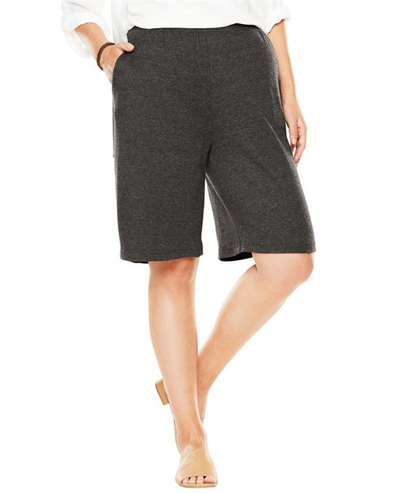 Womens Shorts 7 Day Heather Charcoal