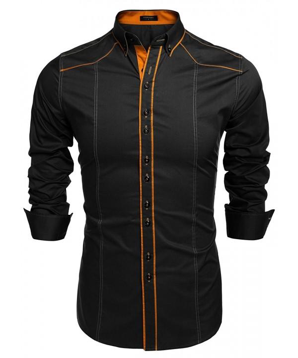 Gotchicon Fashion Button Sleeve Casual