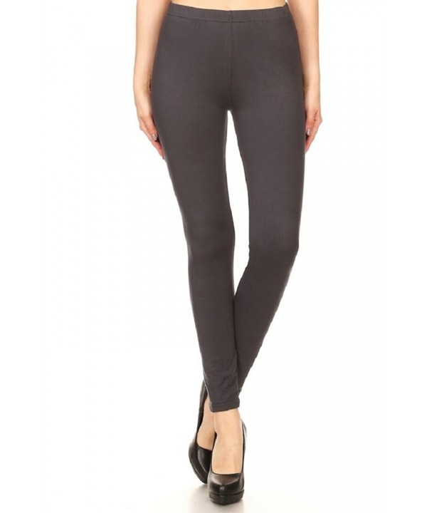 ShoSho Feeling Stretchy Leggings Charcoal