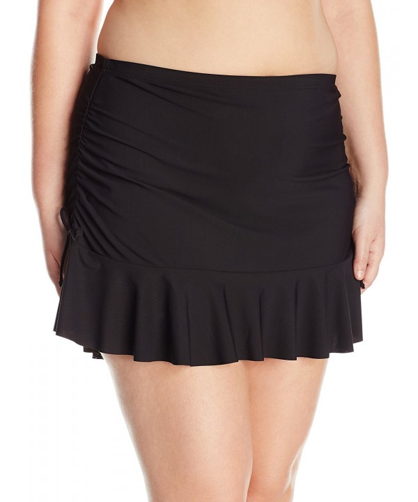 Smart Sexy Flounced Drawstring Skirted