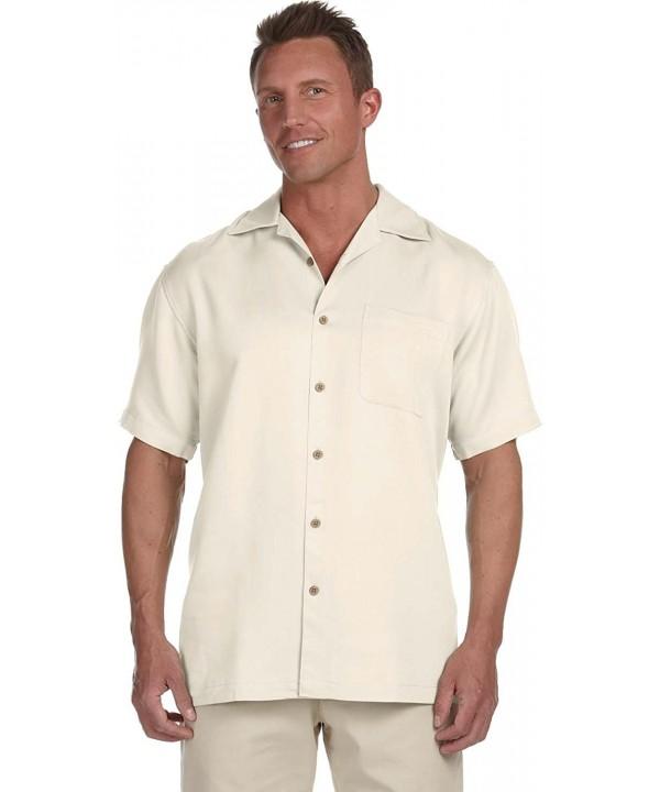 Harriton Mens Bahama Cord Shirt