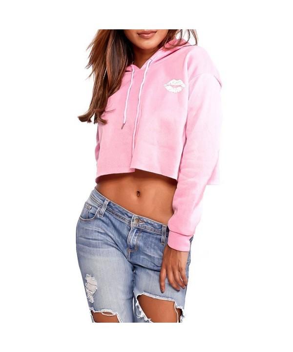 Wonder beauty Womens Sleeves Pullover Hoodie