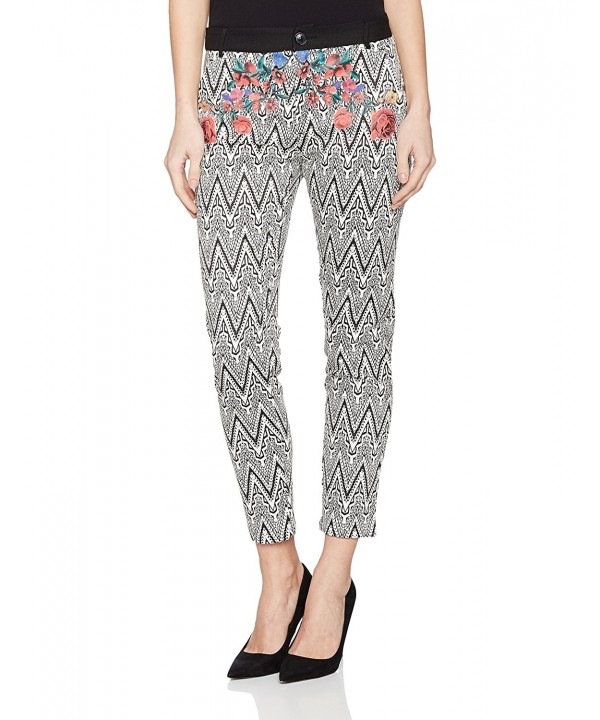 Desigual Womens Woven Trouser Black