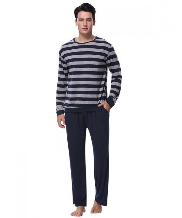 Aibrou Cotton Pajama Striped XX Large