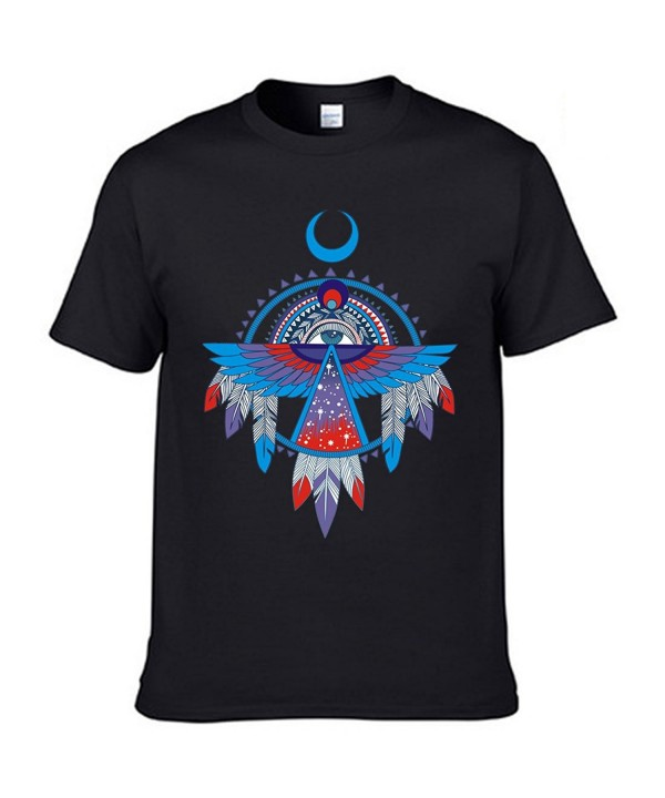 Short Sleeve Crewneck T Shirts American Thunderbird